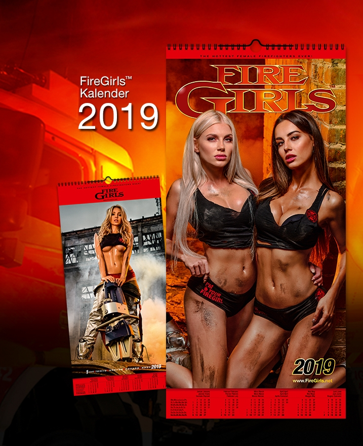 firegirls firegirls kalender 2019 firegirls kalender. Black Bedroom Furniture Sets. Home Design Ideas