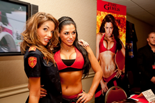 FireGirls ™ at the GlamourCon in L.A.
